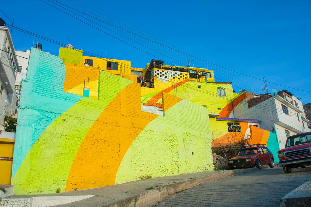 Germen crew Collaborate with Mexican Government for a giant piece in Pachuca, Mexico - the vandallist (6)
