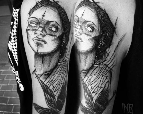 Inez Janiak, tattoo artist
