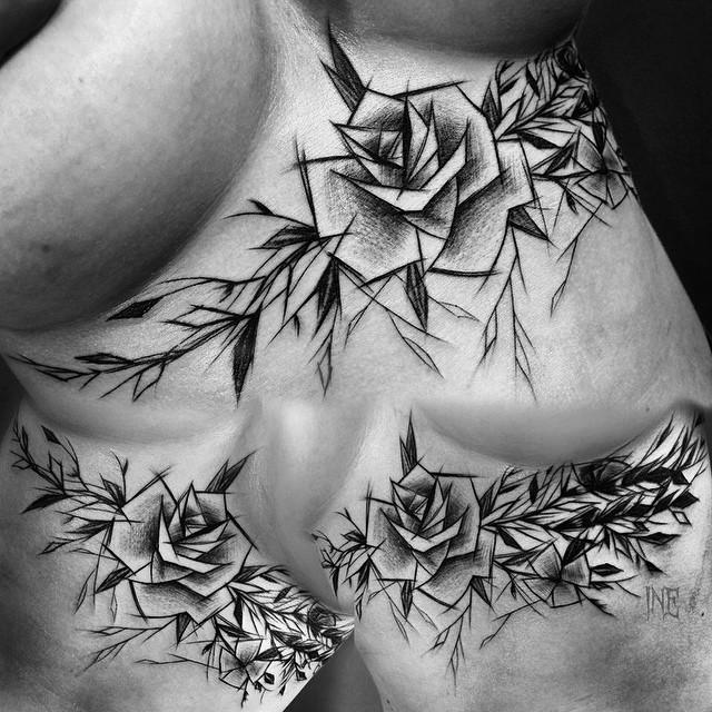 Inez Janiak, tattoo artist - the vandallist (15)