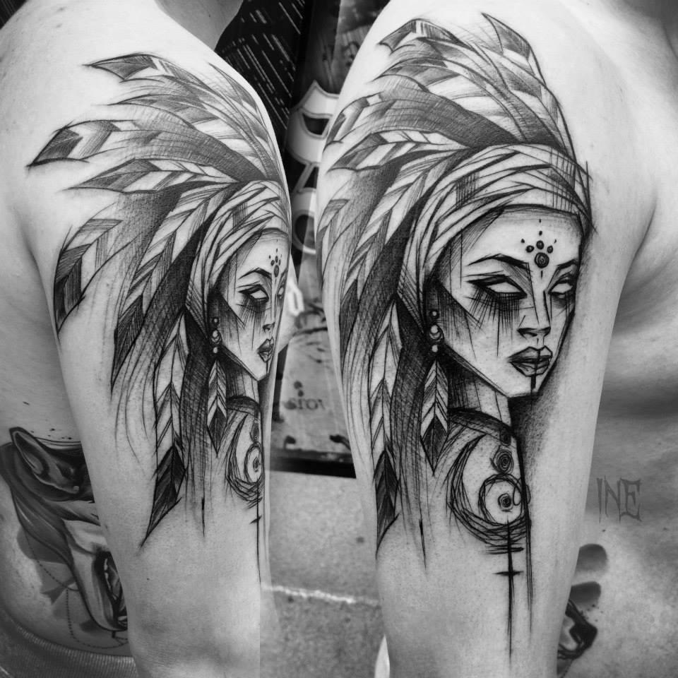 Inez Janiak, tattoo artist - the vandallist (3)