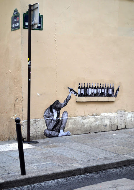 Levalet's One Too Many new piece in Paris, France - the vandallist (4)