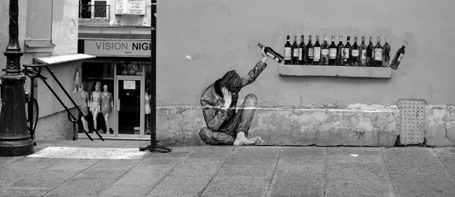 Levalet's One Too Many new piece in Paris, France - the vandallist (5)