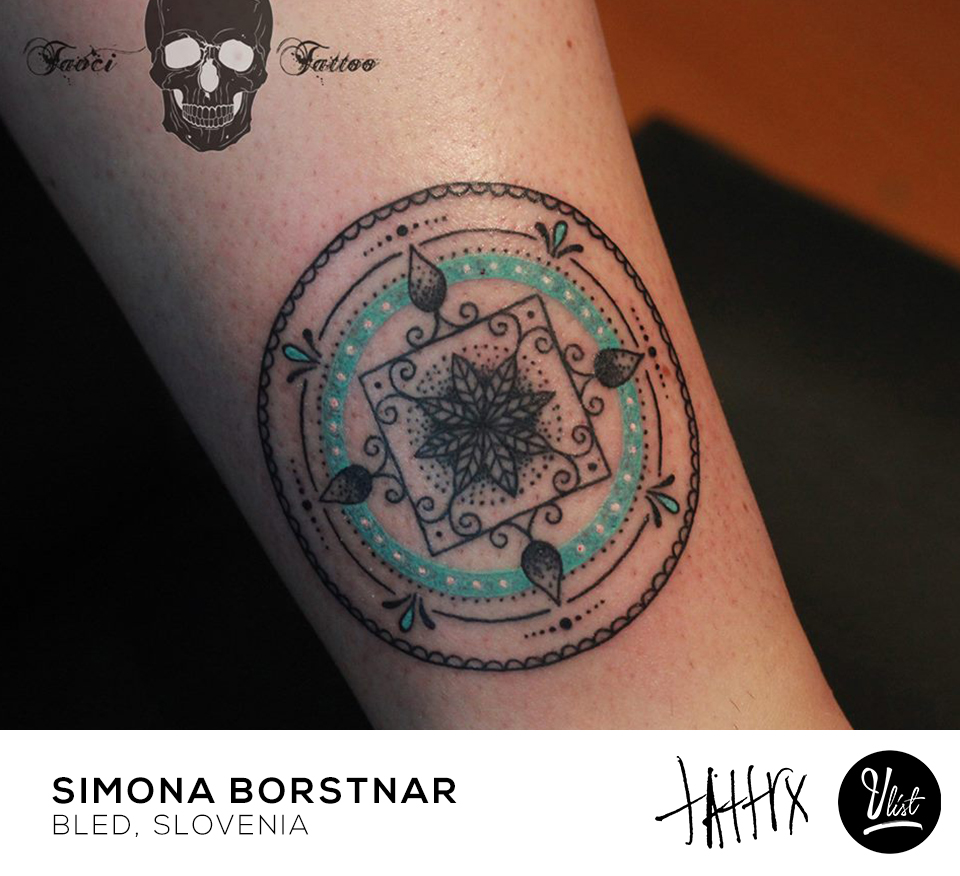 Simona Borstnar, tattoo artist - the vandallist cover