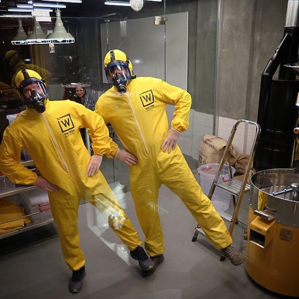 Walter's Coffee Roastery - A 'Breaking Bad' inspired coffee shop in Istanbul - the vandallist  (5)
