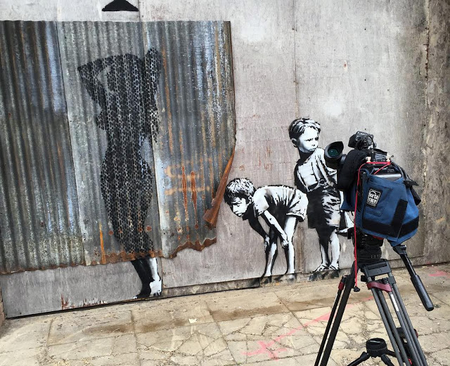 Banksy's new piece in Weston-Super-Mare, UK for Dismaland - the vandallist (1)