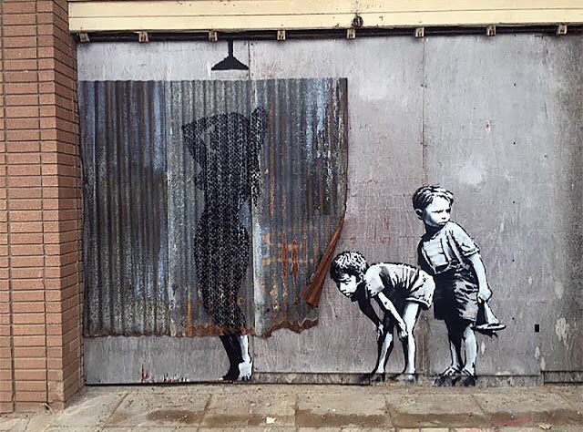 Banksy's new piece in Weston-Super-Mare, UK for Dismaland - the vandallist (4)
