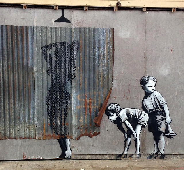 Banksy's new piece in Weston-Super-Mare, UK for Dismaland - the vandallist (5)