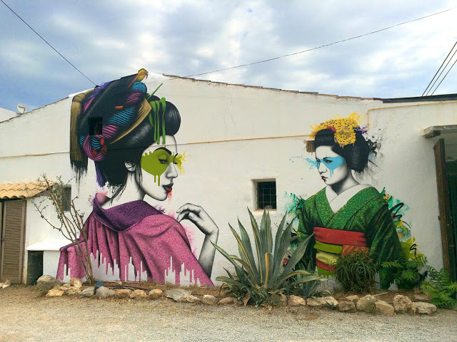New mural by Fin DAC in Ibiza, Spain - Melnagai - the vandallist (1)