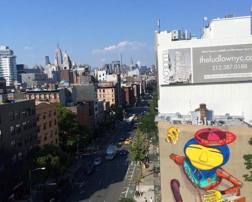 """""""B-BOY"""" STREET ART BY OS GEMEOS IN NYC"""