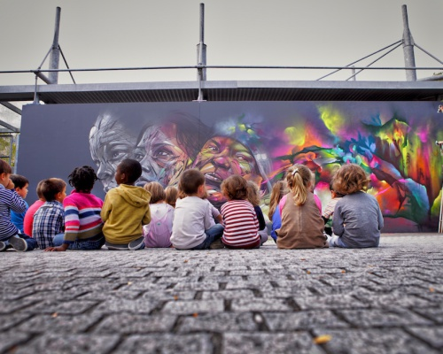 Hopare paints over the dullness of the streets