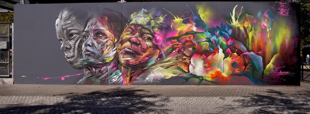 Hopare paints over the dullness of the streets - the vandallist (2)