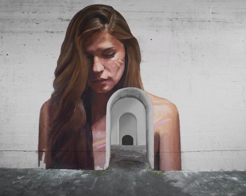 """Hula's new mural """"HAHAI"""""""