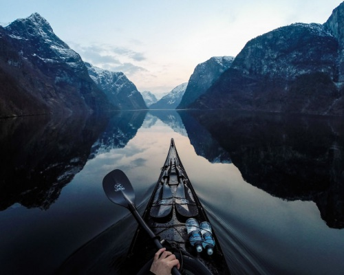 Photographing The Fjords Of Norway From The Kayak Seat