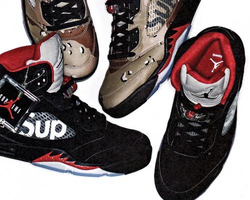 Supreme x Air Jordan 5 2015