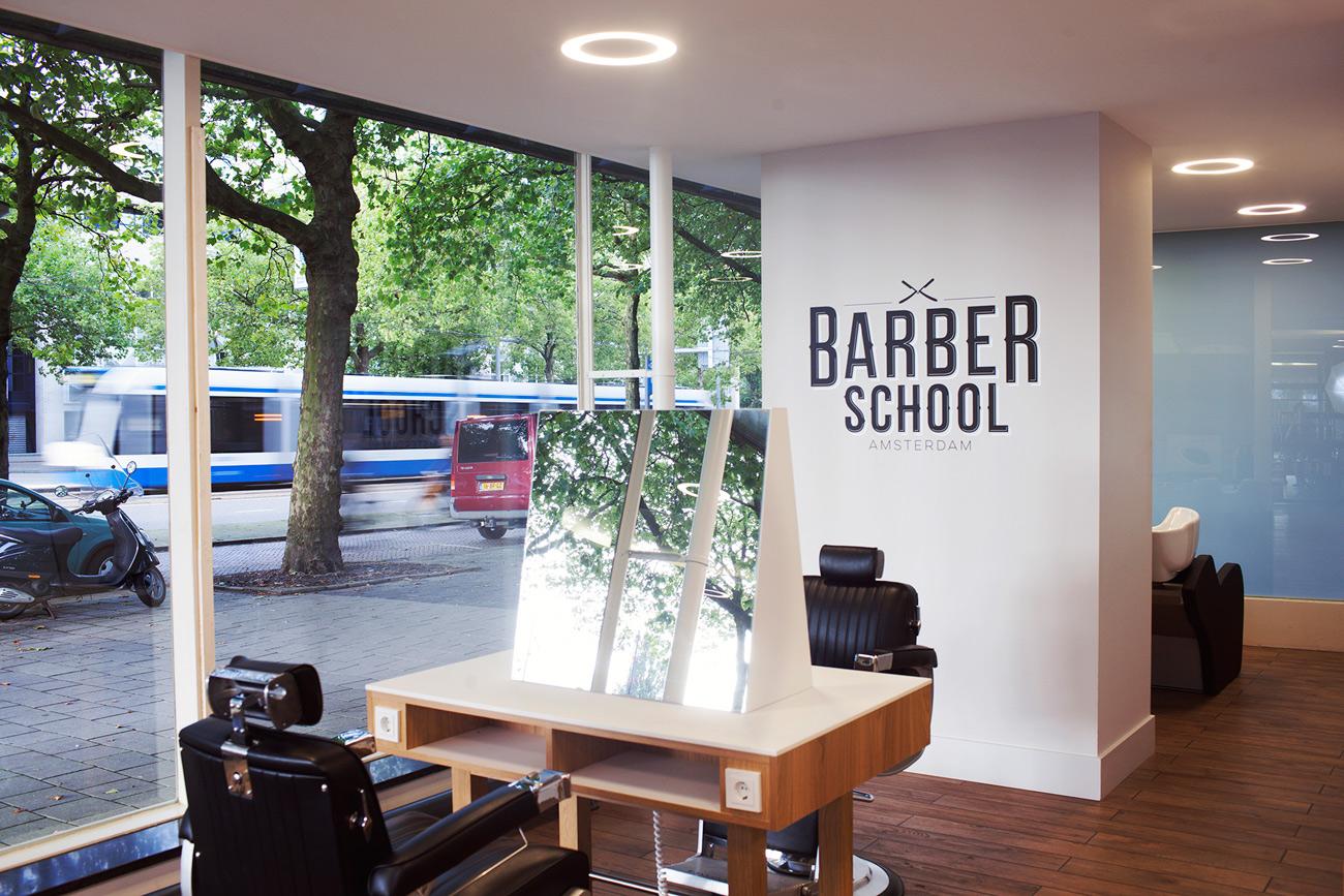 Barber School : sanctuary for beards: Barber School in Amsterdam The VandalList