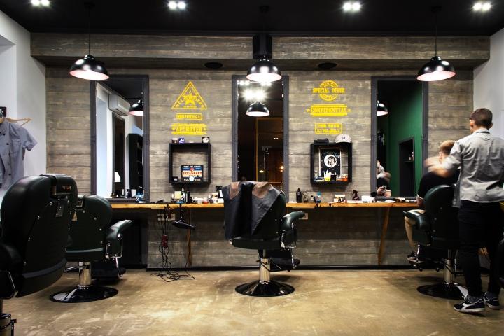A Modern Revival Of The Barbershop In Kiev Ukraine
