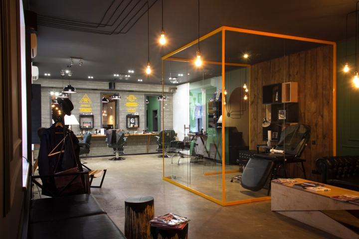 A Modern Revival Of The Barbershop In Kiev Ukraine The