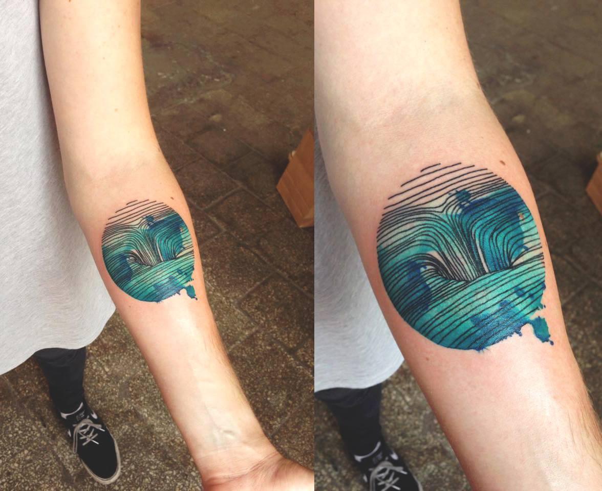 D o lama tattoo artist the vandallist for 11 11 tattoo