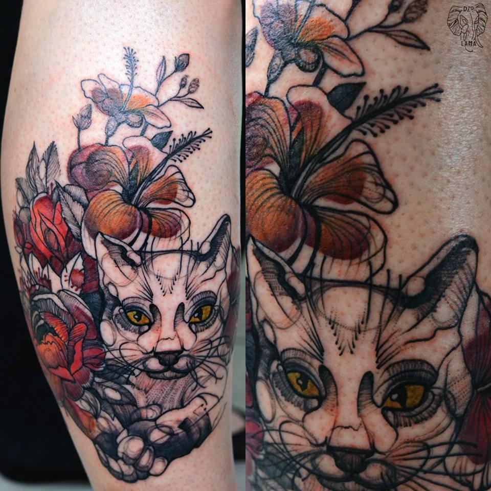 DŻO LAMA, tattoo artist