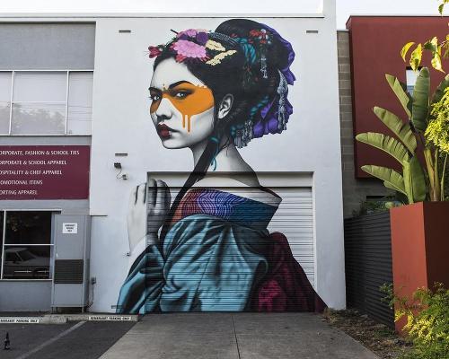 """Shinka"" by Fin DAC in Adelaide, Australia"