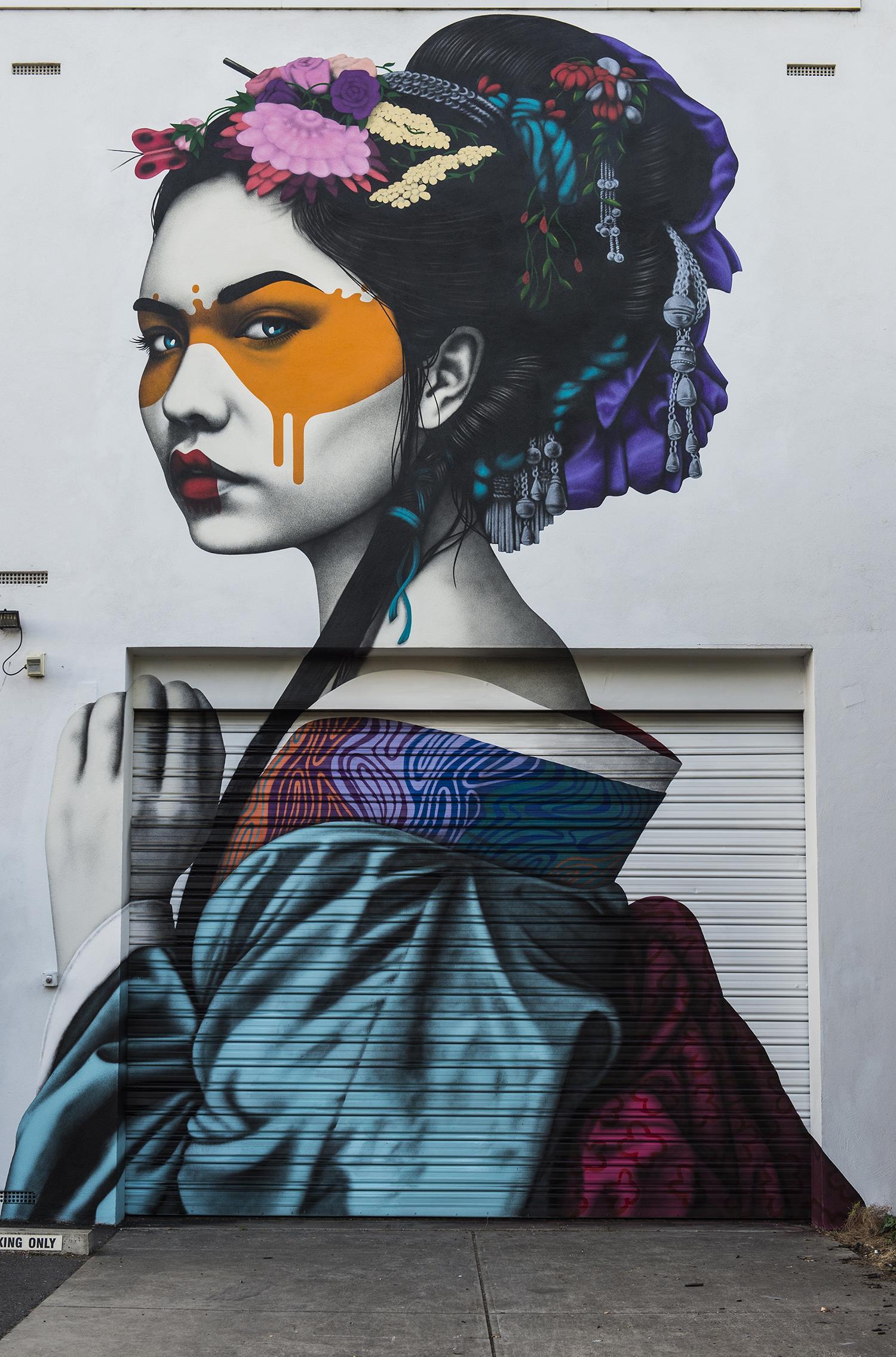 """Shinka"" by Fin DAC in Adelaide, Australia - the vandallist (2)"