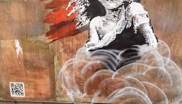 Banksy's Latest Artwork 'Les Misérables Girl'