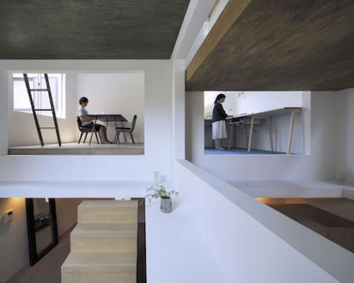 The Japanese Ninja Home by Hiroyuka Shinozaki Architects