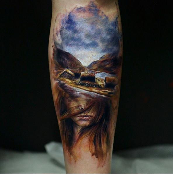 caroline friedmann  tattoo artist