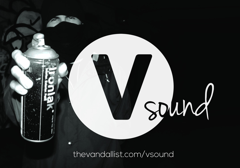 logo V-sound graff