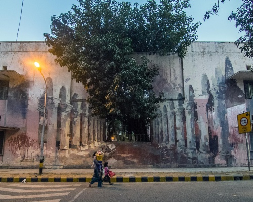 Borondo in Lodhi Colony, New Delhi