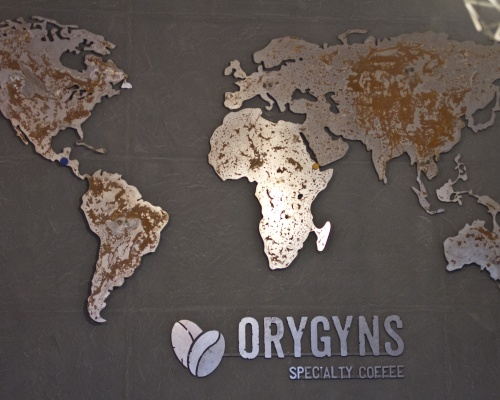 Awesome place with great coffee : ORYGYNS Specialty Coffee, Bucharest