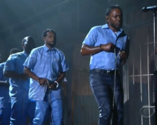 Watch Kendrick Lamar's Performance at the 2016 GRAMMYs