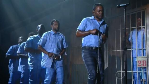 Kendrick Grammys 2016 - the vandallist (1)