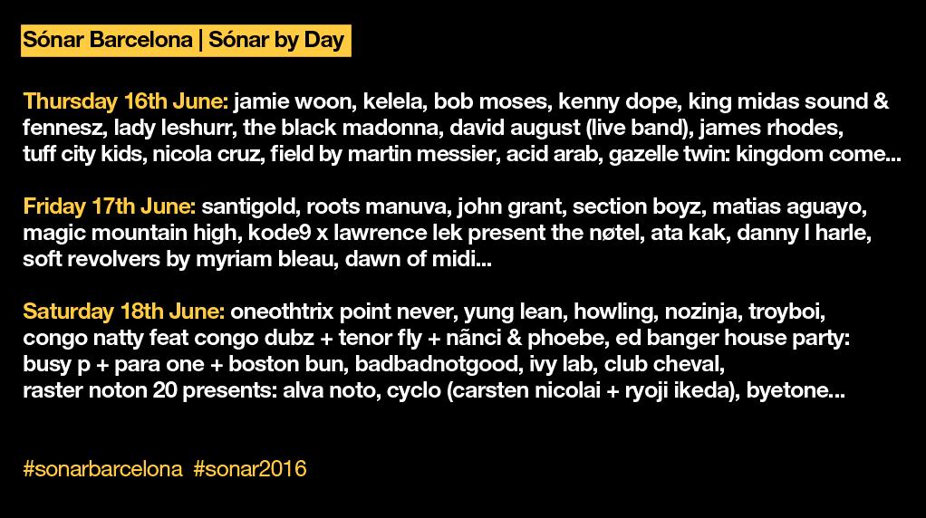 sonar festival 2016 - the vandallist