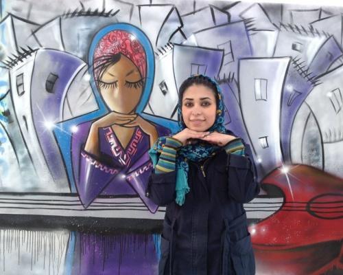 Afghanistan's First Female Street Artist