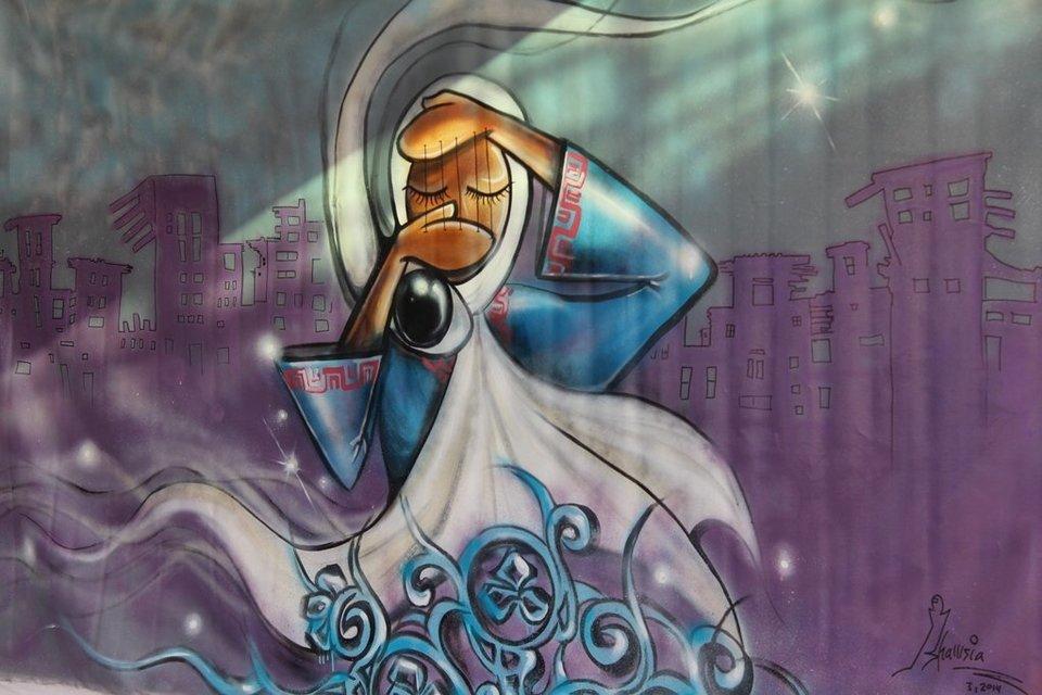 Afghanistan's First Female Street Artist - THE VANDALLIST (5)