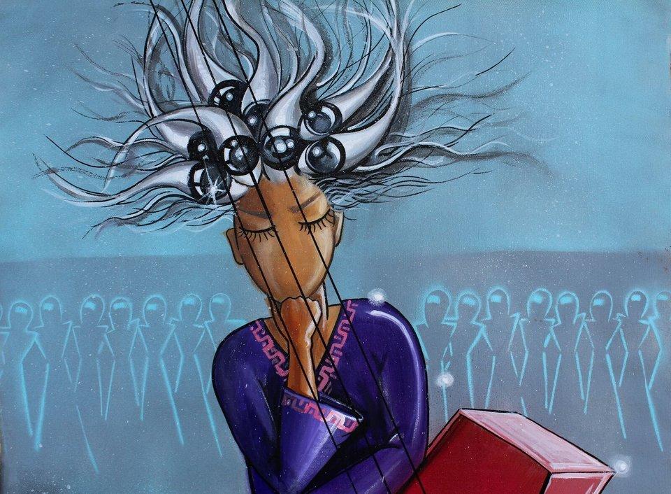 Afghanistan's First Female Street Artist - THE VANDALLIST (6)