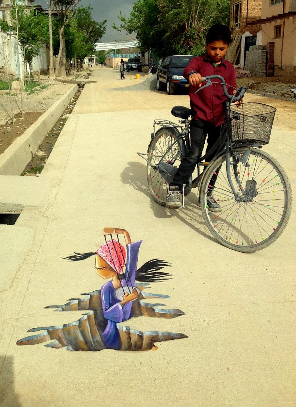 Afghanistan's First Female Street Artist - THE VANDALLIST (7)