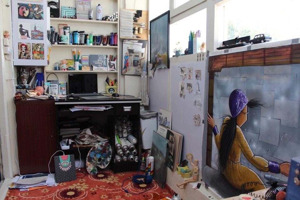 Afghanistan's First Female Street Artist - THE VANDALLIST (9)