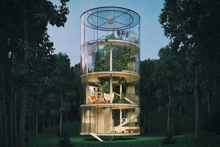 KAZAKH ARCHITECT BRINGS THE FUTURE CLOSER, WITH TREE HOUSE  DESIGN - the vandallist (4)