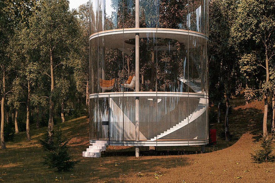KAZAKH ARCHITECT BRINGS THE FUTURE CLOSER, WITH TREE HOUSE  DESIGN - the vandallist (5)