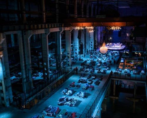 Max Richter Sleep Concert at Kraftwerk Berlin