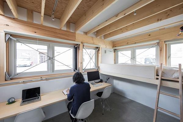 Minimalistic Wooden Japanese House - the vandallist (1)