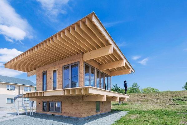 Minimalistic Wooden Japanese House - the vandallist (2)