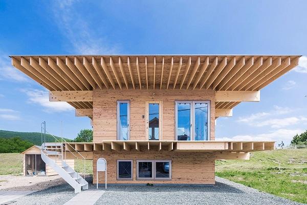 Minimalistic Wooden Japanese House - the vandallist (3)