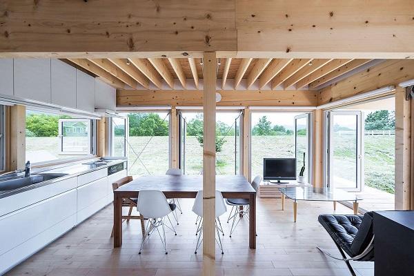 Minimalistic Wooden Japanese House - the vandallist (4)