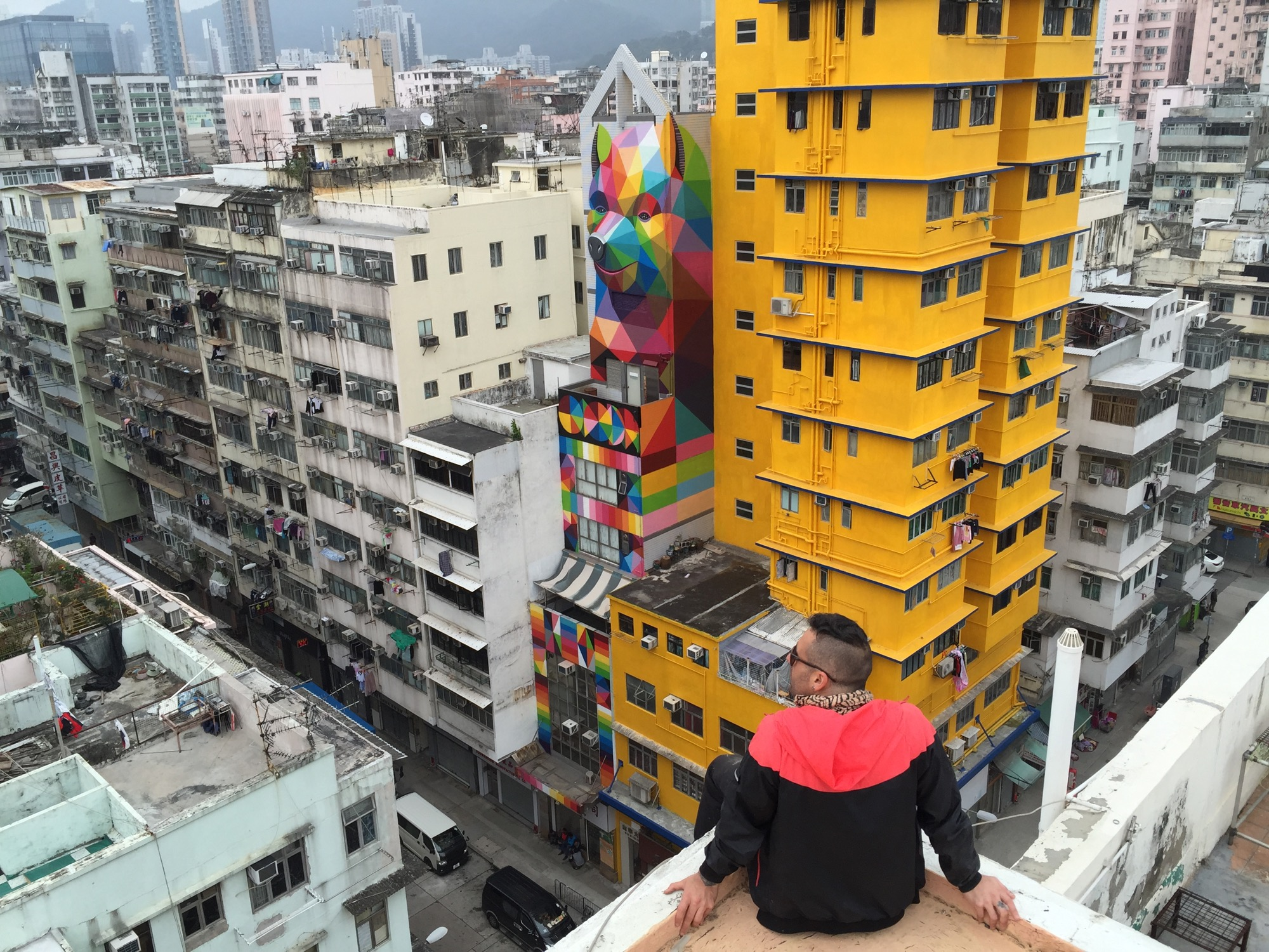 New Mural by Okuda in Hong-Kong - the vandallist (6)