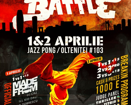 Breakin'Battle a celebration of Hip-Hop culture