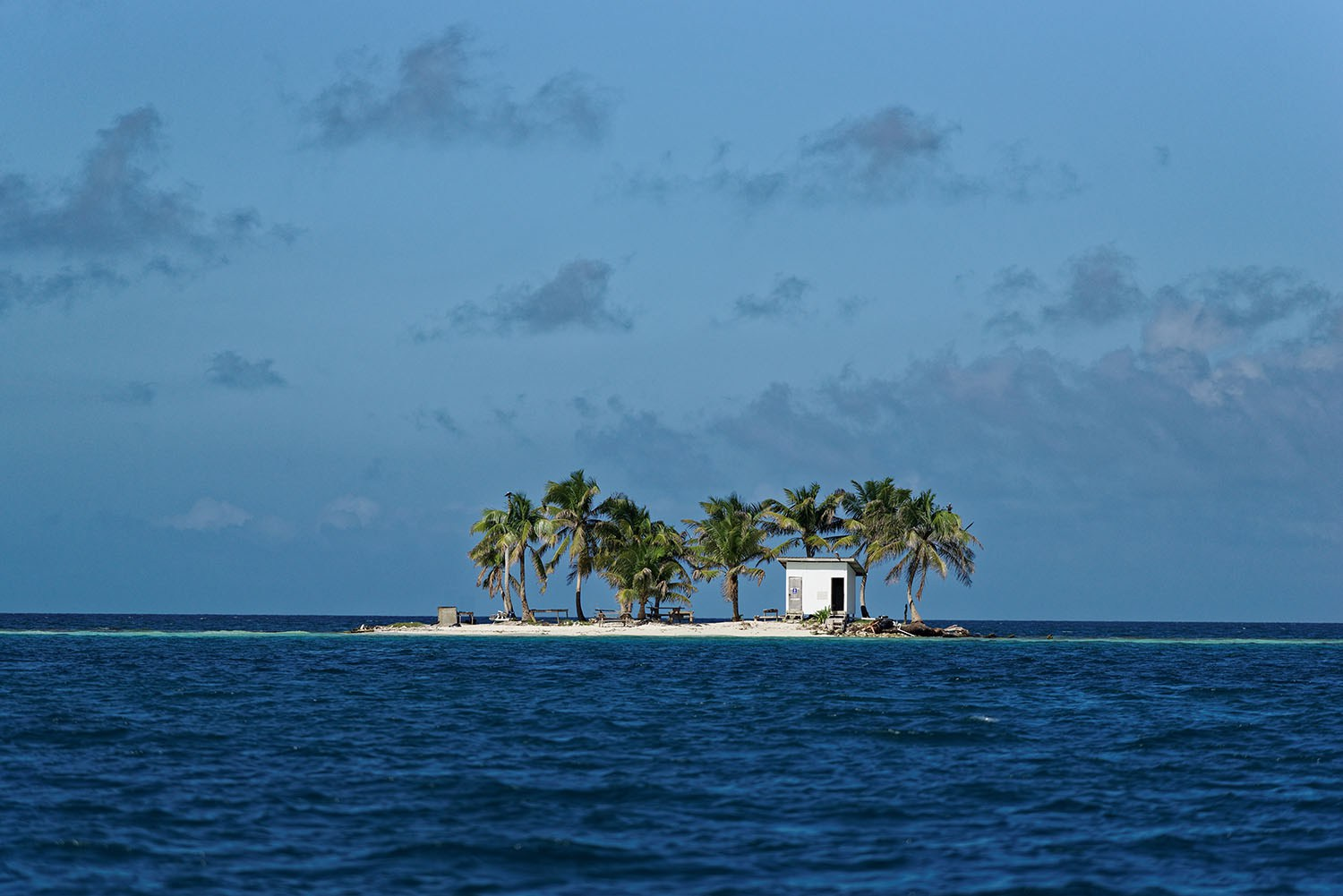 """500px Photo ID: 96179843 - Little """"Toilet island"""" in the middle of Caribbean sea (Belize, Placencia). It was the best office in my life! (office with open space ;-) )"""