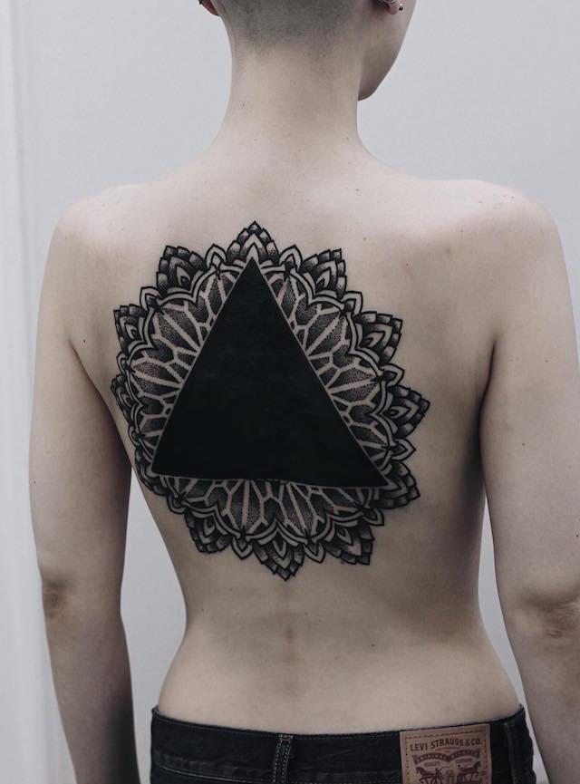 Dark art blackout tattoo the vandallist for Black and white tattoo artists